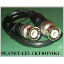 Kabel wtyk BNC - wtyk BNC Czarny 0,3m