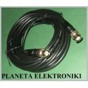 Kabel wtyk BNC - wtyk BNC Czarny 10m