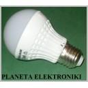 ŻARÓWKA 7W LED SMD E27 230V 2500-3000K 475lm