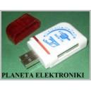 MULTI Czytnik kart pamięci SD TF micro SD ms