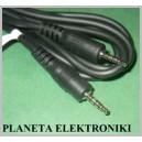 Kabel Wtyk mini jack 2,5 __ 4polowy 1,5m