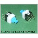 MINI Przełącznik PCB 7x7mm podwójny bistabily
