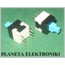 MINI Przełącznik PCB 8x8mm podwójny bistabiln