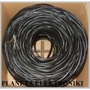 Kabel internetowy SKRĘTKA żel RJ45 50m