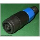 Niebieskie gniazdo speakon spikon na kabel
