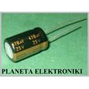 Kondensator LOW ESR 470uF 25V PANASONIC 10szt