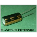 Kondensator LOW ESR 680uF 25V PANASONIC 10szt
