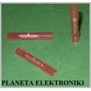 Łącznik cyna+klej 0,5-1,5 termokurczliwy RED