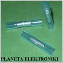 Łącznik cyna+klej 1,5-2,5 termokur NIEBIESKI