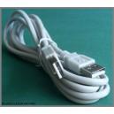 Kabel USB 2.0 A-A męski-męski wtykA/wtA 1,8m