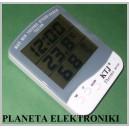 ZEGAR TERMOMETR LCD STACJA POGODY wilgotność