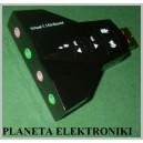 KARTA DŹWIĘKOWA Muzyczna USB 7,1 zewnętrzna (3071)