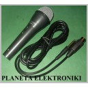 Profesjonalny Mikrofon Jack 6,3 karaoke 2,8m(1281a)