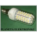 ŻARÓWKA 80 LED smd E14 230V 4W Białe Ciepłe