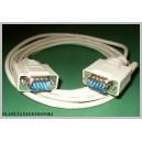 Kabel wtyk RS232 - wtyk DSUB 9pin 9p 5m