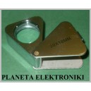 LUPA składana kieszonkowa pow 20x metal 18mm