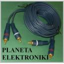 Kabel 2x RCA ( cinch ) - 2 x RCA 5m nowy(1813)