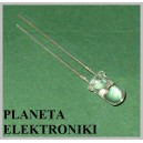 Dioda diody LED 5mm 12V ŻÓŁTA clear 10szt
