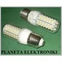 ŻARÓWKA 80 LED smd E27 230V 4W Białe Ciepłe (3001)
