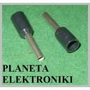 Zakończenie kabla tulejka 2,5mm E2512 100szt (1877)