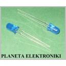 Dioda diody LED 5mm 12V Niebieska BLUE 10szt(3197)