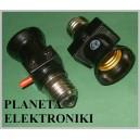 Adapter żarówki E27 elektryczna złodziejka (3230