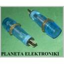 KONTROLKA 9mm dioda żarówka NIEBIESKA 220V (3031)