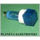 Kontrolka kwadratowa NIEBIESKA 250V AC (3033)