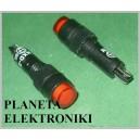 KONTROLKA 8mm dioda żarówka CZERWONA 12V (3261)