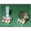 Potencjometr obrotowy B10k 10k Ohm liniowy 20mm (0896a)