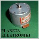 MINI Silnik Silniczek 12V średnica 33mm (3315)