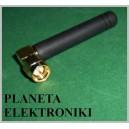 Antena GSM 800-1900MHz 2,5dbi SMA 48mm nowa (3311)