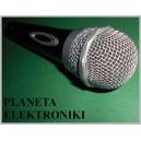 Profesjonalny Mikrofon Jack 6,3 XLR 600ohm 3m (3368)