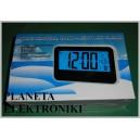 Cyfrowy Termometr budzik zegar data prezent (3378)