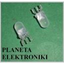 Dioda LED 5mm czerwono/zielona wspólna katoda 50szt (3435)