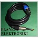 Kabel mikrofonowy JACK mono / XLR canon 1,5m (3470)
