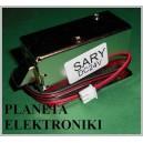 Zamek elektryczny zaczep elektrozamek elektromagnes do bram drzwi 24V FV (3460)