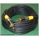 Kabel S/ PDIF wtyk RCA - Jack 3,5 mono 7,5m (1472)