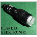 KONTROLKA 8mm BIAŁA 12V  (3461)