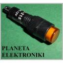 KONTROLKA 8mm ŻÓŁTA 12V (3462)
