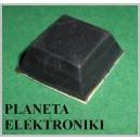 NÓŻKA samoprzylepna gumowa kwadrat  8mm / 20mm (3513)