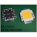Dioda Power LED Wysokiej MOCY 70W BIAŁA neutralna (3519)
