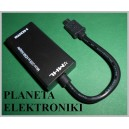 Kablel MHL przejściówka micro USB na HDMI (3538)