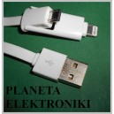 Kabel wtyk USB na micro mikro USB iphone 5 6 (3516)