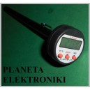 TERMOMETR LCD sonda żywności do mięsa 300C (2355)