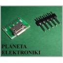 MODUŁ Gniazdo mikro micro USB do arduino (3596)