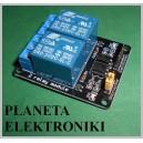 Moduł 2 przekaźników 5V Dwukanałowy arduino (3598)