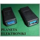 Łącznik Gniazdo USB 3.0 podwójne typ A (3617)