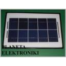Ogniwo słoneczne PANEL 7W 6V 232x342x4mm (3627 )