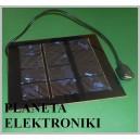Ogniwo PANEL słoneczny USB 1W 6V 142x163x2mm (3652)